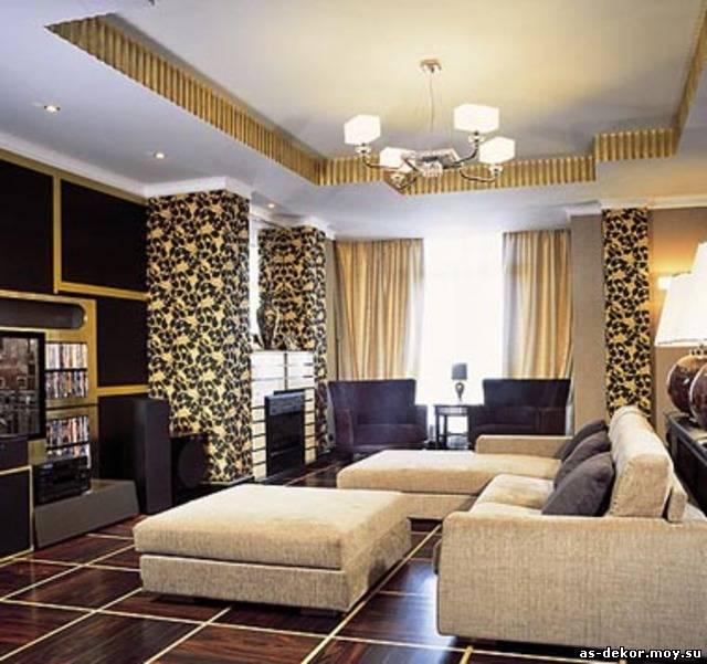 Дизайн спальни в стиле арт деко - нюансы создания стиля.